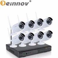EINNOV 2 0MP 1080P NVR 5PCS 6PCS 1080P HD Outdoor Home Security Camera System 8CH CCTV