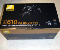 Новый Nikon D610 24,3 МП цифровая зеркальная камера с AF S ED VR 24 85 мм объектив