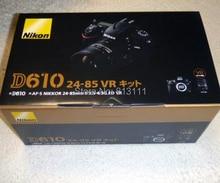 New Nikon D610 24 3 MP Digital SLR Camera Body with AF S ED VR 24