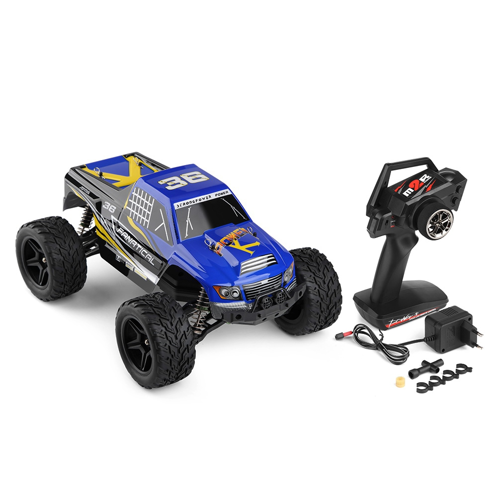 цена на WLTOYS RC Car 1:12 Scale 4CH 2.4G 2WD Cars 30km/h High Speed Remote Control Car RTR Model Off-Road Vehicle Toy Best Xmas Gifts
