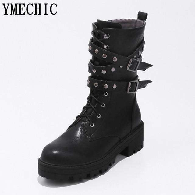 a836149c59 YMECHIC-Vintage-Lady-Brun-Noir-Femmes-Lacent-Rivet-Boucle-Militaire-Combat-Moto-D-quitation-Cheville-Bottes.jpg_640x640.jpg