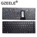 Новая русская клавиатура GZEELE для HP ProBook 430 G1  черная клавиатура