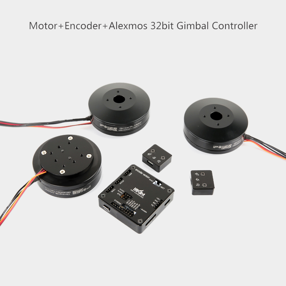 Gimbal Motor GBM5208 6208 6212 with AS5048 encoder AlexMos 32-BIT BGC Basecam Gimbal Controller for DSLR Gimbal Stabilizer ripani 6212 cr rip 00003 nero