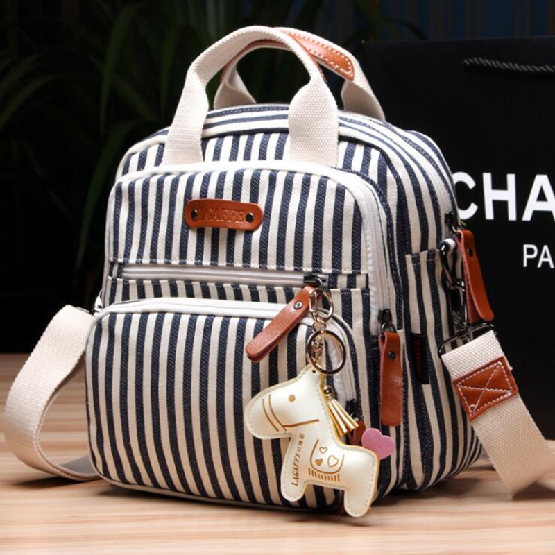 Aliexpress Fashion Canvas Colorful Large Capacity Mommy Diaper Bag Baby Ny Bags Maternity Women Backpack Handbag Messenger Nursing From