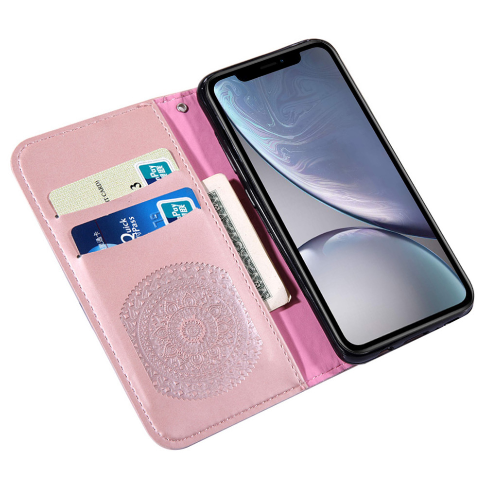 Leather Flip Case in Ftted Cases For iPhone 5 5s SE 6 6s 7 8 Plus Wallet Book Bag For iPhone XS Max X XR Phone Case Cover Coque lt in Flip Cases from Cellphones amp Telecommunications
