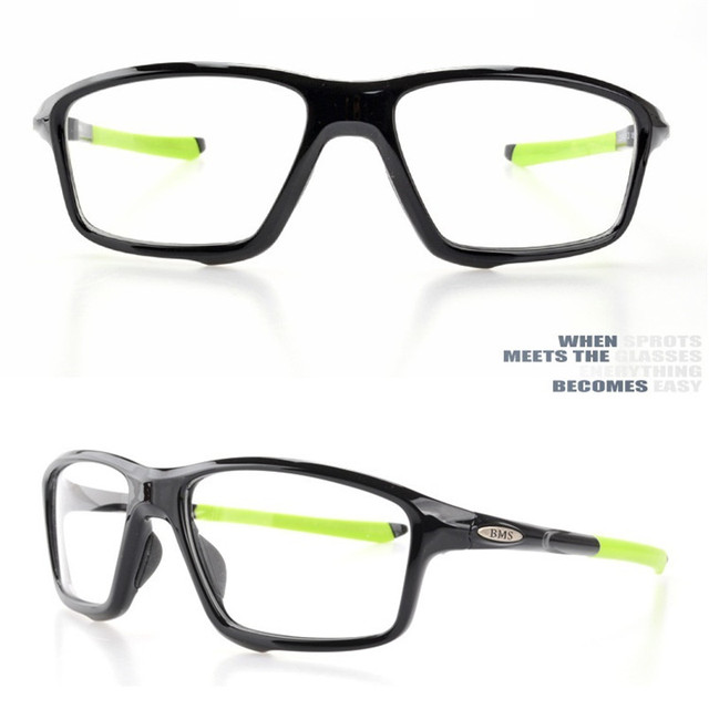 ea5c123b451 Vazrobe TR90 Glasses Frame Men Women Sports Basketball Football Eyeglasses  Man Prescription Spectacles Myopia Diopter Optical