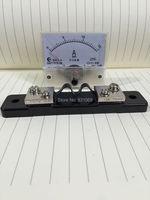 1 шт. аналоговый усилитель Панель метр колеи DC 0 ~ 15A 85C1 + шунт Фирменная Новинка