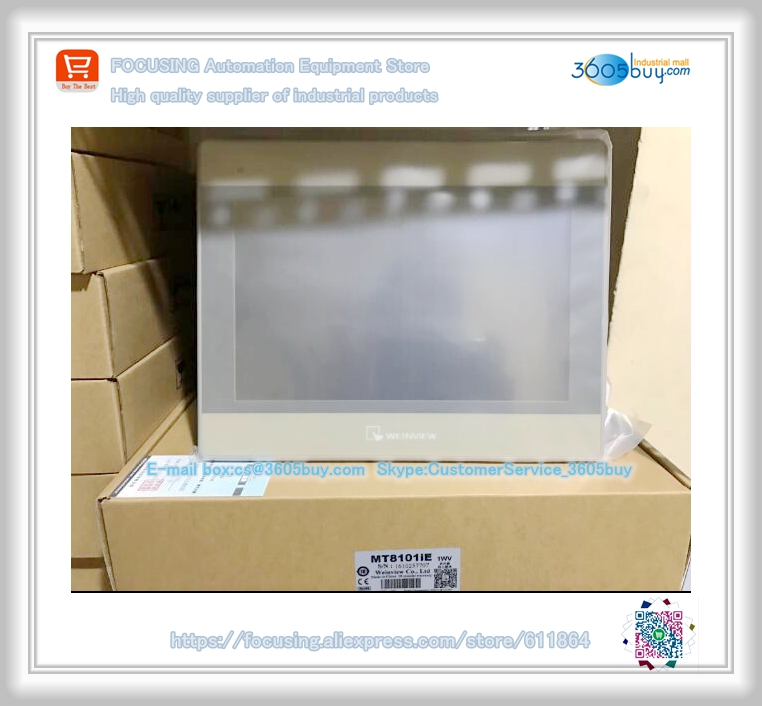 New Original in box Touch Screen Panel for 10.1inch HMI MT8101iE Can replace MT6100IV3 MT6100IV5 MT8100IE HMI tg465 mt2 4 3 inch xinje tg465 mt2 hmi touch screen new in box fast shipping