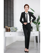 2017 Sale Formal Elegant Pant Suits For Women Work Wear Blazer And Jacket Sets Womens Business Ladies Office Uniform Styles