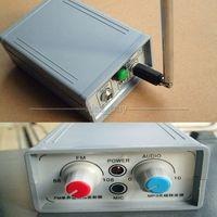 88-108 MHZ Ham Radio FM Transmitter MP3 Audio Bezprzewodowy Repeater + Antena + ZASILANIA