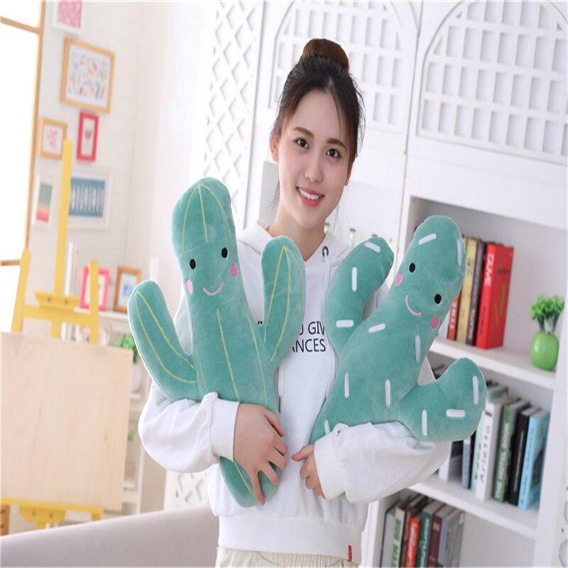 1pc 50cm Toys for children soft toy plush plant sleeping pillow cactus popular toys children's girl doll gift sleeping pillows