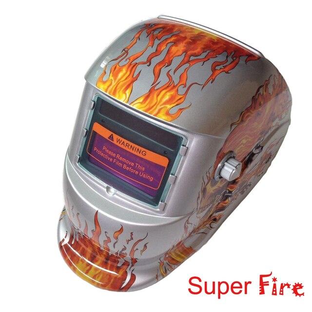 New Design Solar Auto Darkening Mig Tig Arc Welder Welding Helmet Mask Hood Din Dc Electric Hat Helmets Goggles Ce