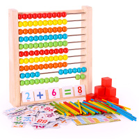 Preschool Wooden Montessori Toys Arithmetic Counting Learning Stand Board Early Education Teaching Aids Math Toys For Children