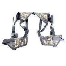 FOCUSIGN Военная Тактическая двойная кобура для пистолета универсальная кобура для руки на плечо двойная сумка регулируемые ремни