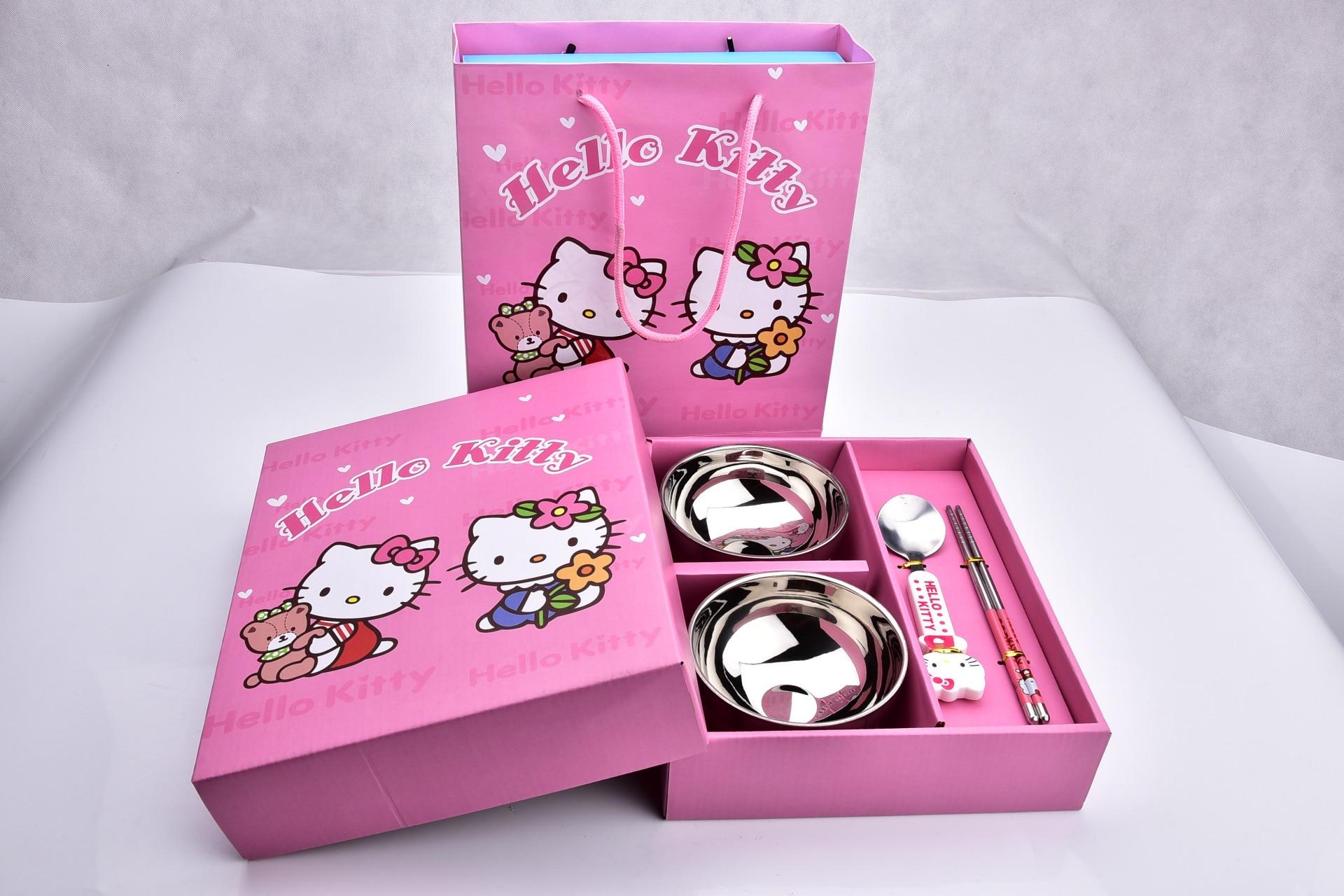 Stainless steel cartoon Doraemon children \'s utensils creative gifts ...