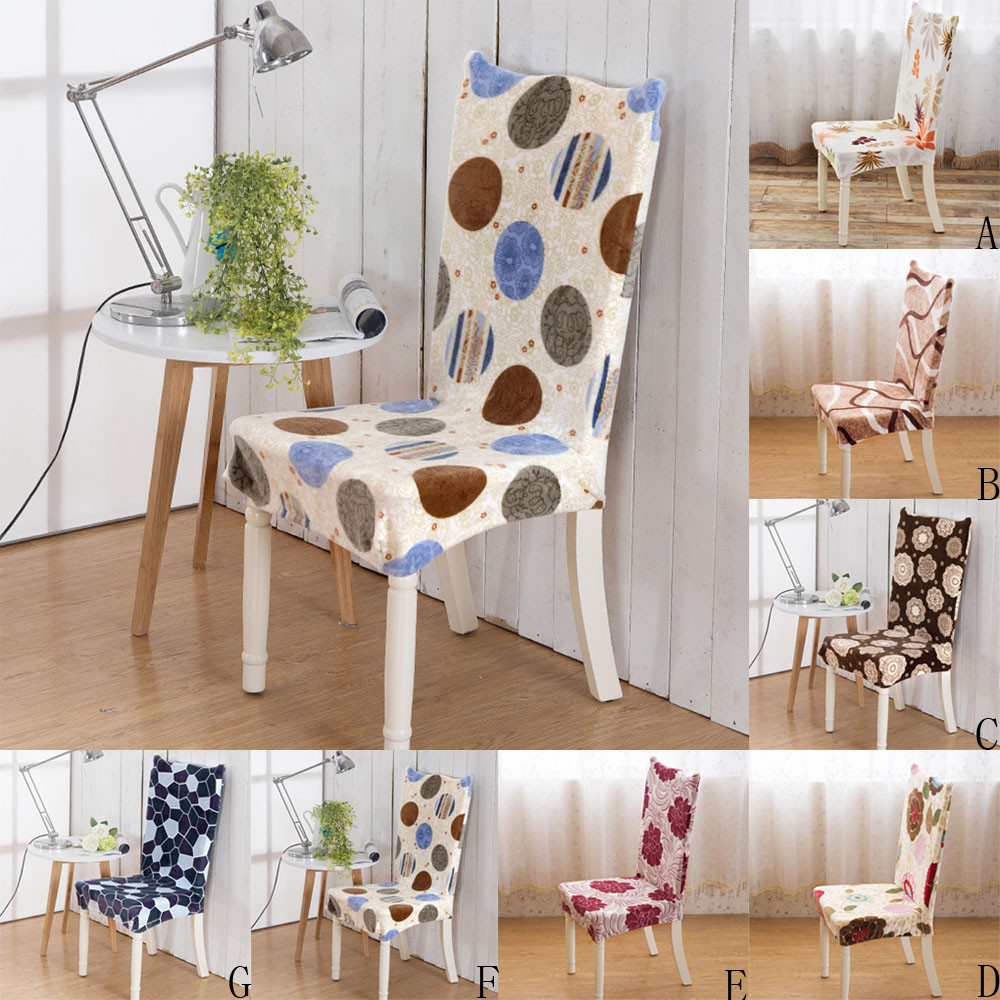 Dining Chair Covers Velvet Floor Protectors For Chairs Traditional Chinese Style Seat Cover Farley Universal Covered Wedding Party Banquet Hotel 7 Colors