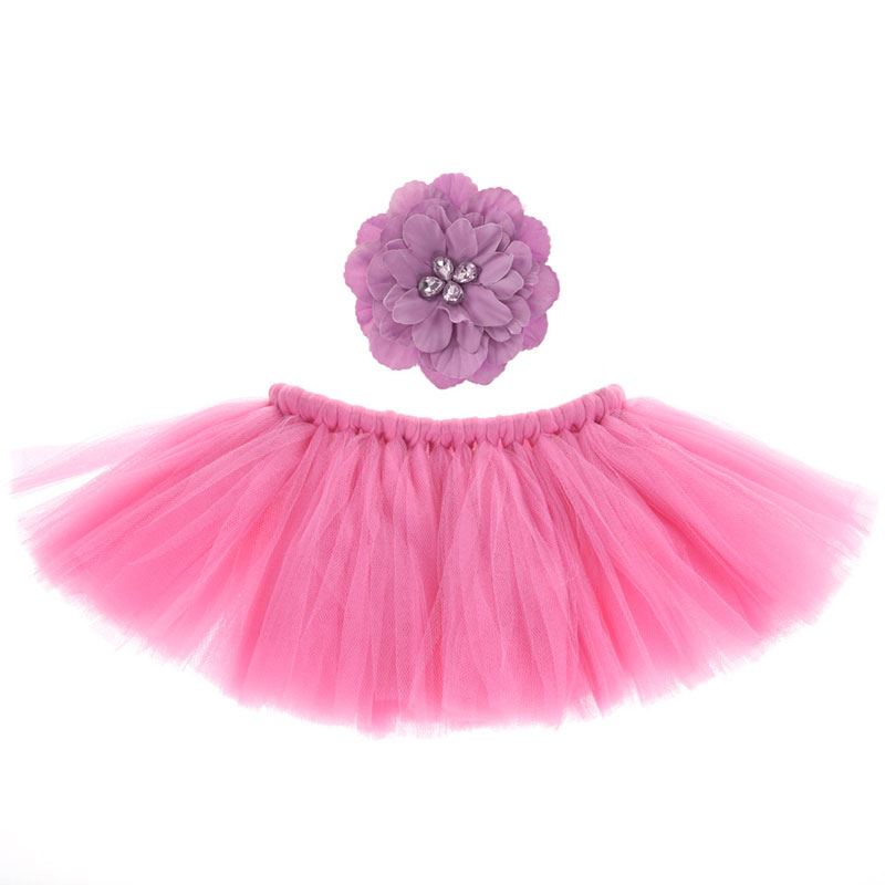 c099be713a 2018 Baby Newborn Photography Props Photo Props For Baby Photography  Accessories Pink Tutu Skirts Headband Set Fotografia-in Hats & Caps from  Mother & Kids ...