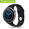 Torntisc С1 Smart Watch 1.22 дюймовый TFT Емкостный Круглый Сенсорный Экран IP67 Водонепроницаемый Поддержка Жест Управления Удаленной Камеры Часы