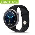 Torntisc c1 smart watch 1.22 polegadas tft capacitiva de tela de toque rodada ip67 à prova d' água apoio gesto controle remoto relógio da câmera