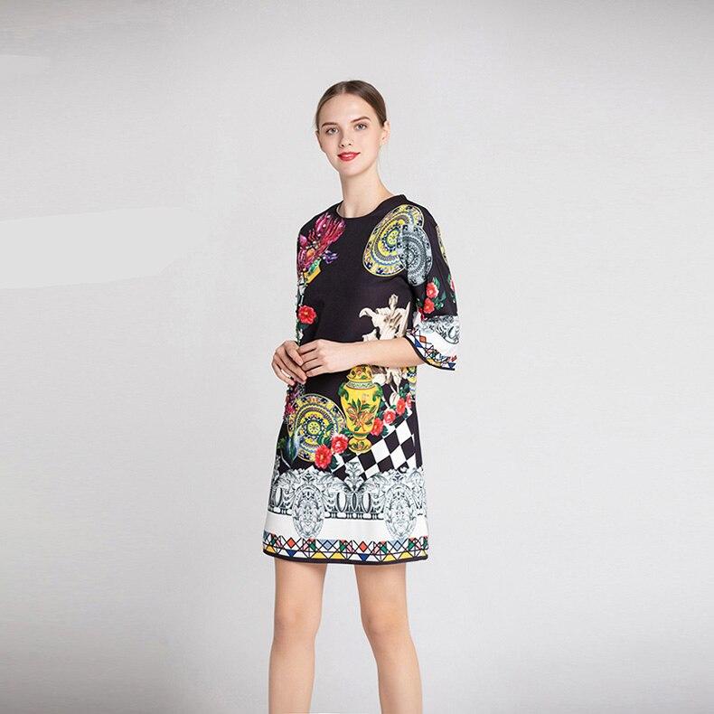 Manches Perlée 3 Femmes Piste High Multi De Fashion O Robes 4 Cou Paillettes Imprimé Street Courtes R0URXz
