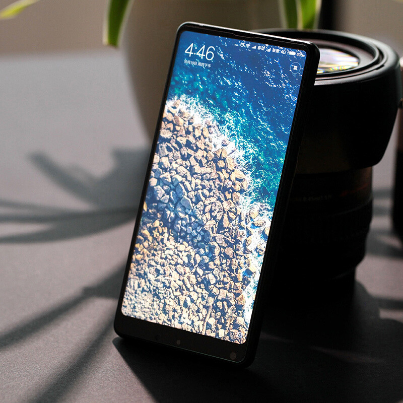 Экран протектор для Xiaomi mi x 2 9 H полное покрытие Олеофобное анти отпечатков пальцев закаленное Стекло пузырьков