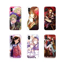 Hetalia: Axis Powers Aksesoris Ponsel Case Penutup untuk Apple Iphone X XR X Max 4 4 S 5 5 S 5 5C Se 6 6 S 7 7 Plus IPod Touch 5 6(China)