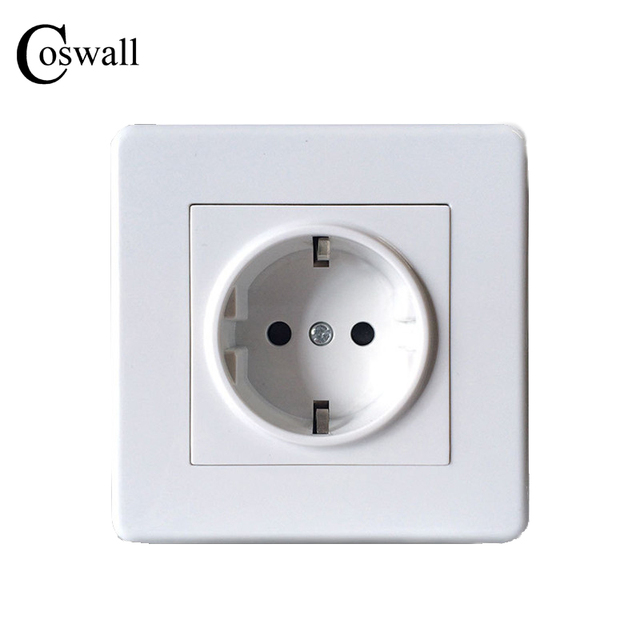 Aliexpress.com : Buy COSWALL Wall Power Socket, 16A EU Standard ...