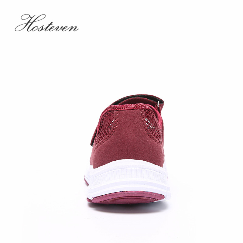 Hosteven Women Shoes Casual Sport Flats Fashion Shoes Walking Spring Summer Loafers Breathable Air Mesh Walking Shoes