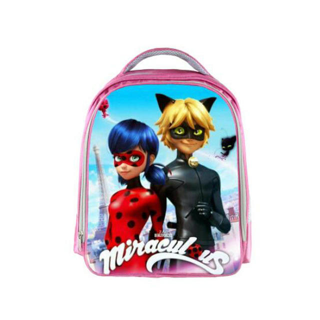 13 Inch Miraculous Ladybug Marinette Cat Noir Backpack Kids School Bags for Boys  Girls Schoolbag Kindergarten Child Bags 3913e49360483