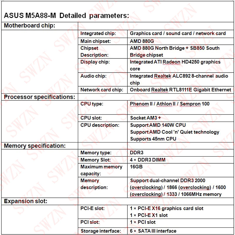 Asus M5A88-M AMD Display Driver Windows 7