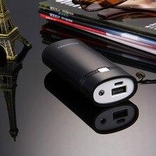 DIY 2×18650 Батарея 5600 мАч Запасные Аккумуляторы для телефонов В виде ракушки коробка с USB Выход и световой индикатор для iPhone/Samsung, батарея не входит в комплект
