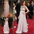 Vestidos de noche para Las Mujeres Embarazadas 2017 de Cristal Sin Respaldo de la Cintura Imperio Largo de Maternidad Jennifer Lopez Celebrity Partido Vestido de Noche