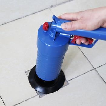 Air Power Drain Blaster Gun High-Pressure Powerful Manual Sink Plunger Opener  1