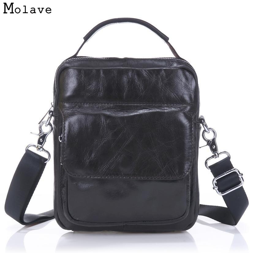 Naivety 2017 Vintage Men Bag Genuine Leather Handbag Casual Messenger Shoulder Bags High Quality 28S7616 drop shipping