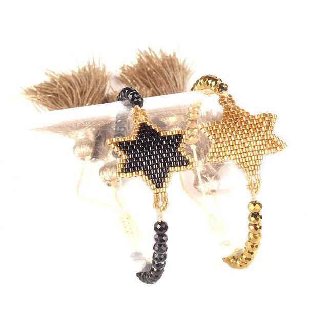 Shinus Lote de pulseras MIYUKI para Mujer, 10 unidades, joyería 2019, pulseras de parejas de estrellas, brazaletes bohemios hechos a mano para verano