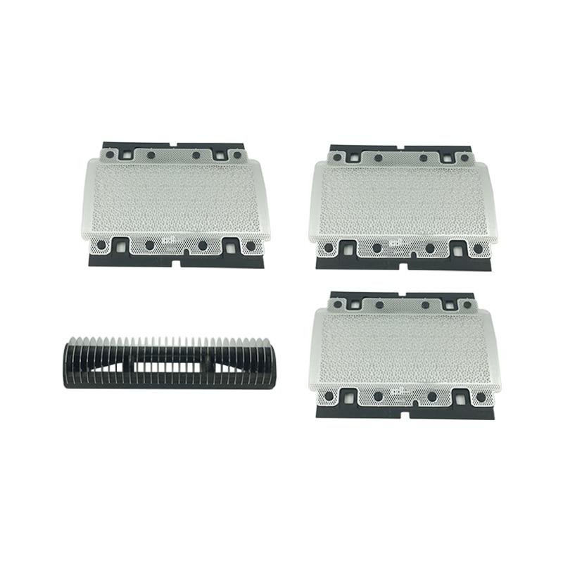 3x 628 Foil +1x Cutter For BRAUN Series 3000 3310 3315 3600 3610 3612 3614 3615 3731 3732 Shaver Foil Razor Mesh Net Grid