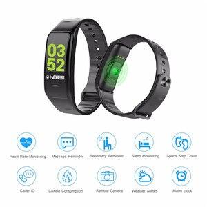 Image 3 - 2019 Vòng Tay Thông Minh Màu Sắc Màn Hình Tập Thể Hình Đồng Hồ Huyết Áp Đo Nhịp Tim Theo Dõi Giấc Ngủ Dây Đeo Tay Bluetooth Smart Watch