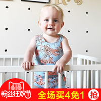 Summer Romper Bobo Choses Tiny Cotton Floral Chestysuit Bonds Baby Boys Girls Jumpsuit Baby Clothing Vestidos Chesty