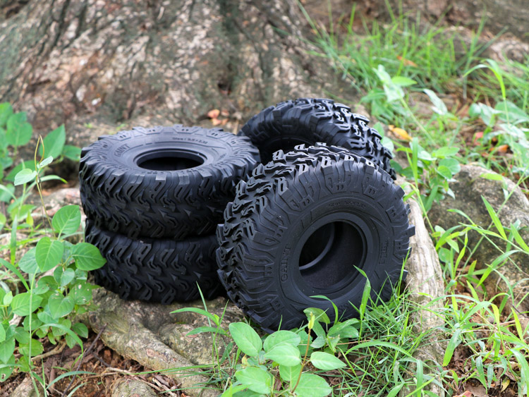타이거 개 2.2 인치 울트라 소프트 클라이밍 타이어 150mm 시뮬레이션 타이어 scx10 90046 trx4-에서부품 & 액세서리부터 완구 & 취미 의  그룹 1