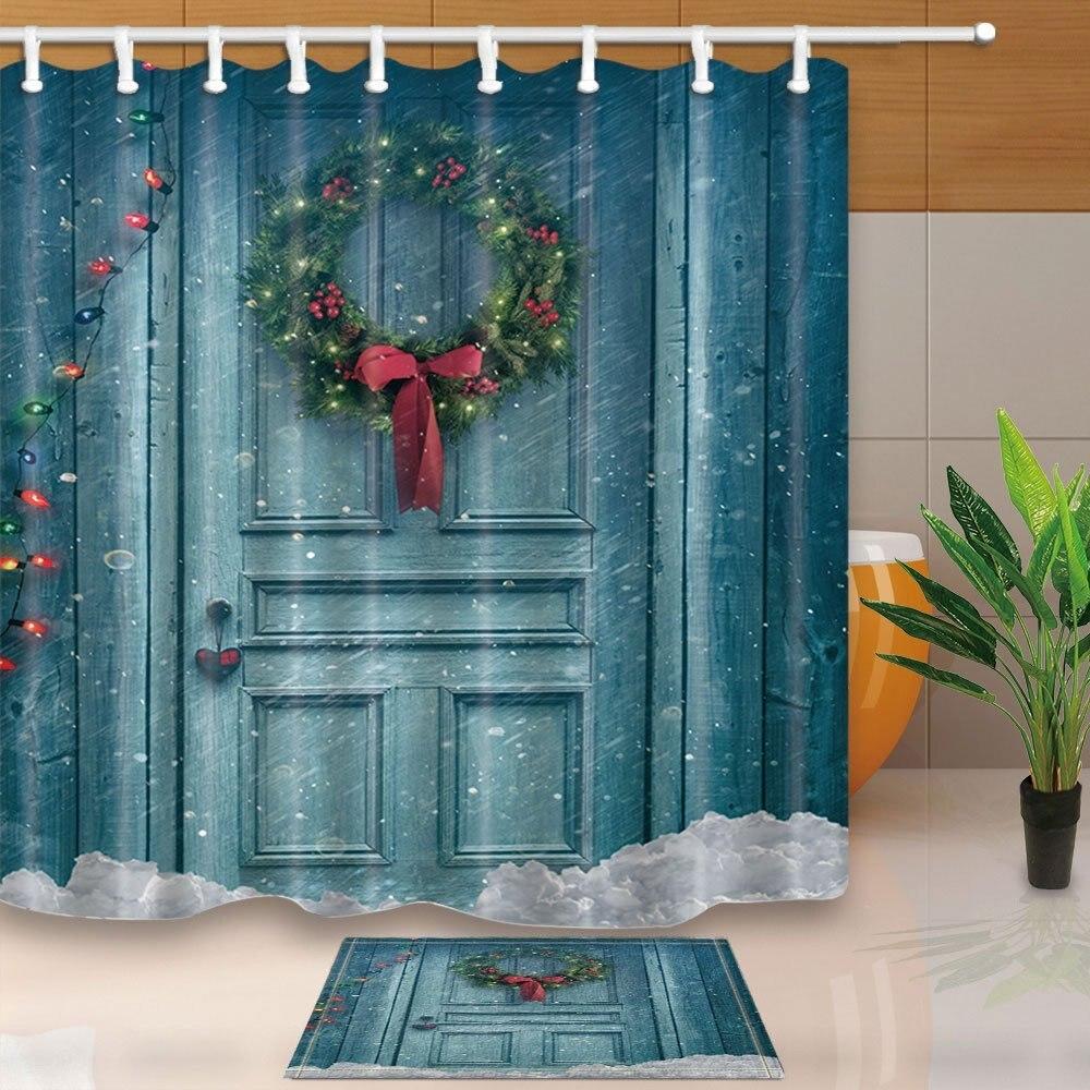 christmas barn bathroom set