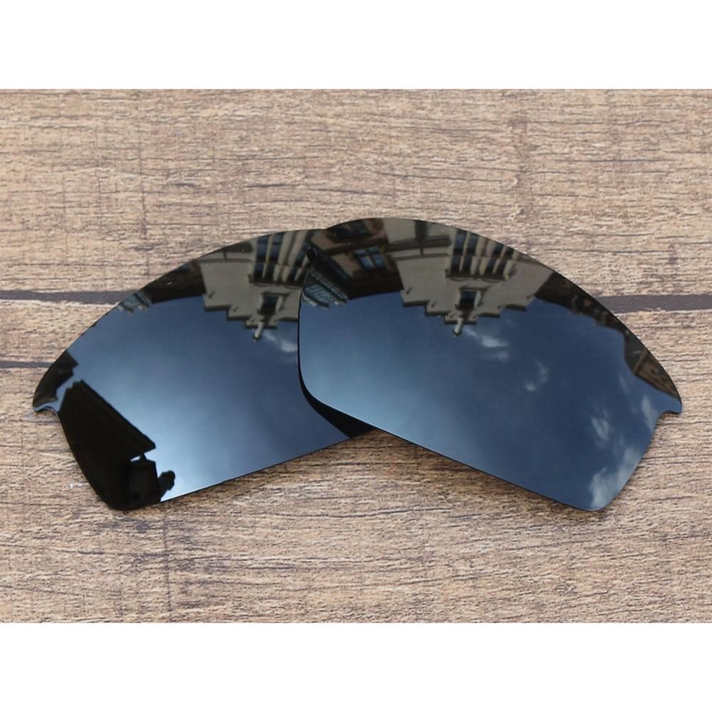 Vonxyz Stealth Black Polarized Replacement Lenses For-Oakley Bottlecap Frame
