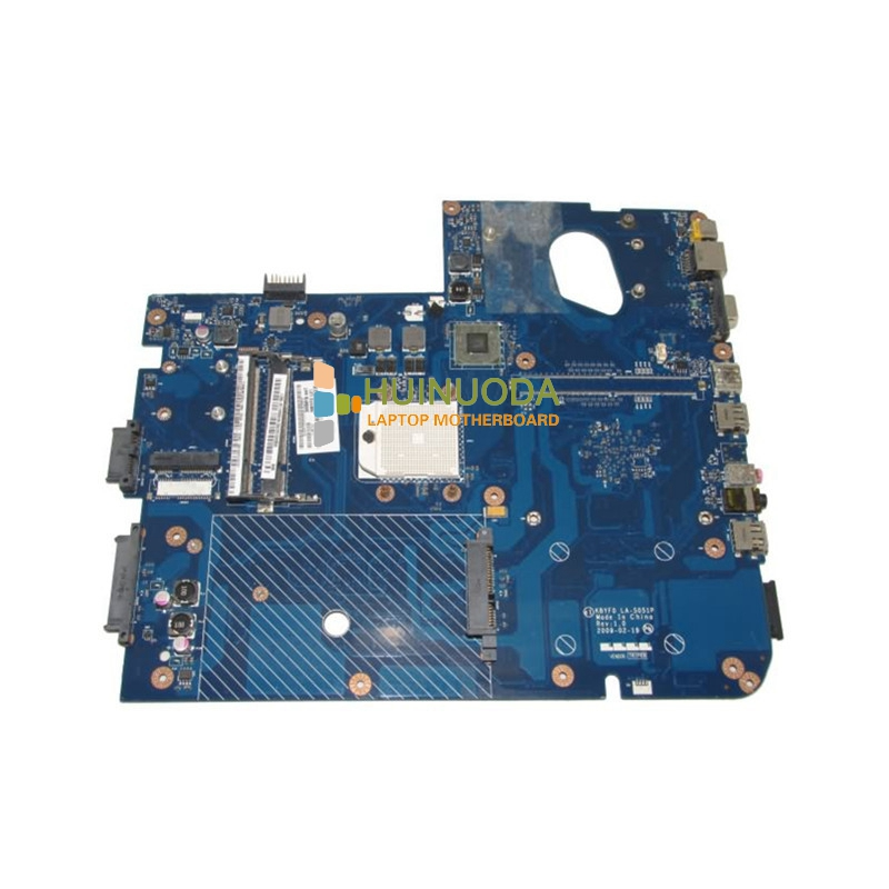цены NOKOTION la-5051p MBBDU02001 MB.BDU02.001 laptop motherboard for gateway nv73 m880g ddr2 Mainboard tested warranty 60 days