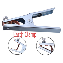 300A Cheapest Safty Brass material Welding Steel Ground Clamp Quality American EU Earth Clamps цена