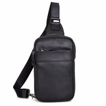 JMD Real Leather Sling Shoulder Bag Men;s Waist Multiple External Pocket Design 4002A-1