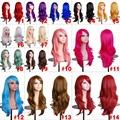 Women's Cosplay Curly Wigs With Bangs Long Curly Hair Fluffy Curly Hair   HB88