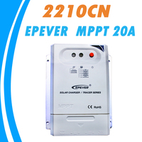 Newest EPever MPPT 20A 12V 24V Solar Charger Controller Original Dry Contact Design For Max 100V