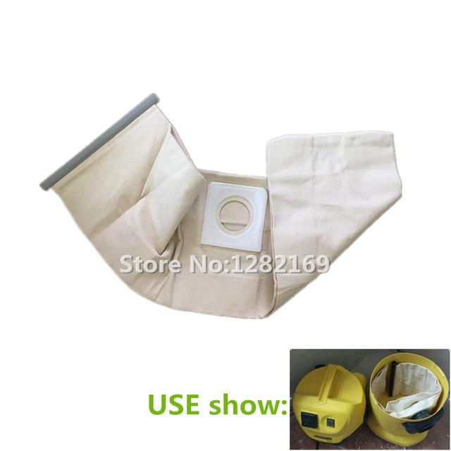 1 pi ce aspirateur tissu sac filtre poussi re sac remplacement pour karcher. Black Bedroom Furniture Sets. Home Design Ideas