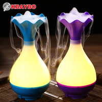 USB Humidifier Ultrasonic Aroma Diffuser Aromatherapy Essential Oil With The LED Light Of The Night Mist