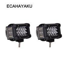 ECAHAYAKU 70W off road 5.5 inch led work light side 270 degree bar ATV SUV for jeep car accessories fog lights 4x4 4WD UAZ