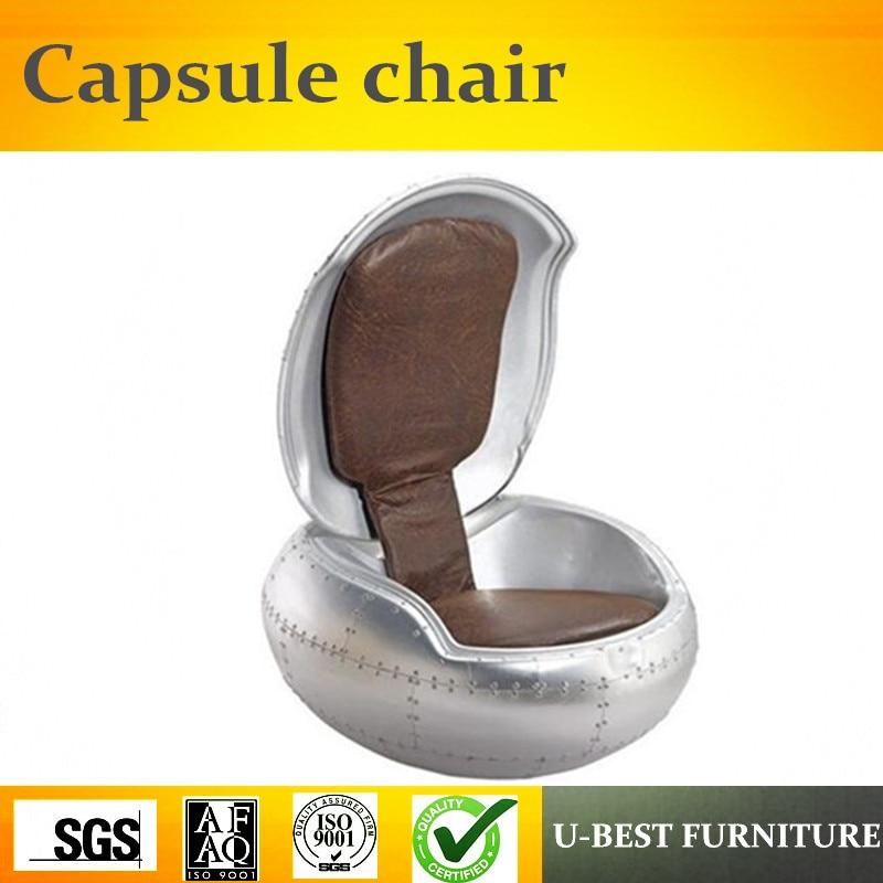 U-BEST Different Colors Fashionable Fiberglass Leisure Sleeping Chair